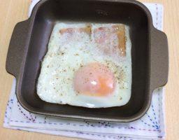 トースタープレートの使い方とおすすめレシピ!ベーコンエッグが超簡単で洗い物も楽々!