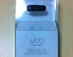 片耳で聴くBluetoothヘッドセットはPLANTRONICS M70がおすすめ!長時間のバッテリーで毎日使える!