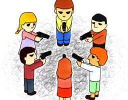「枕の下の銃だけが増えていった」―堤未果著『社会の真実の見つけかた』を読んで