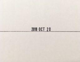 日付スタンプ「シャイニー ミニデイトプリンタ」の印字を「年→月→日」の順に入れ替えたメモ